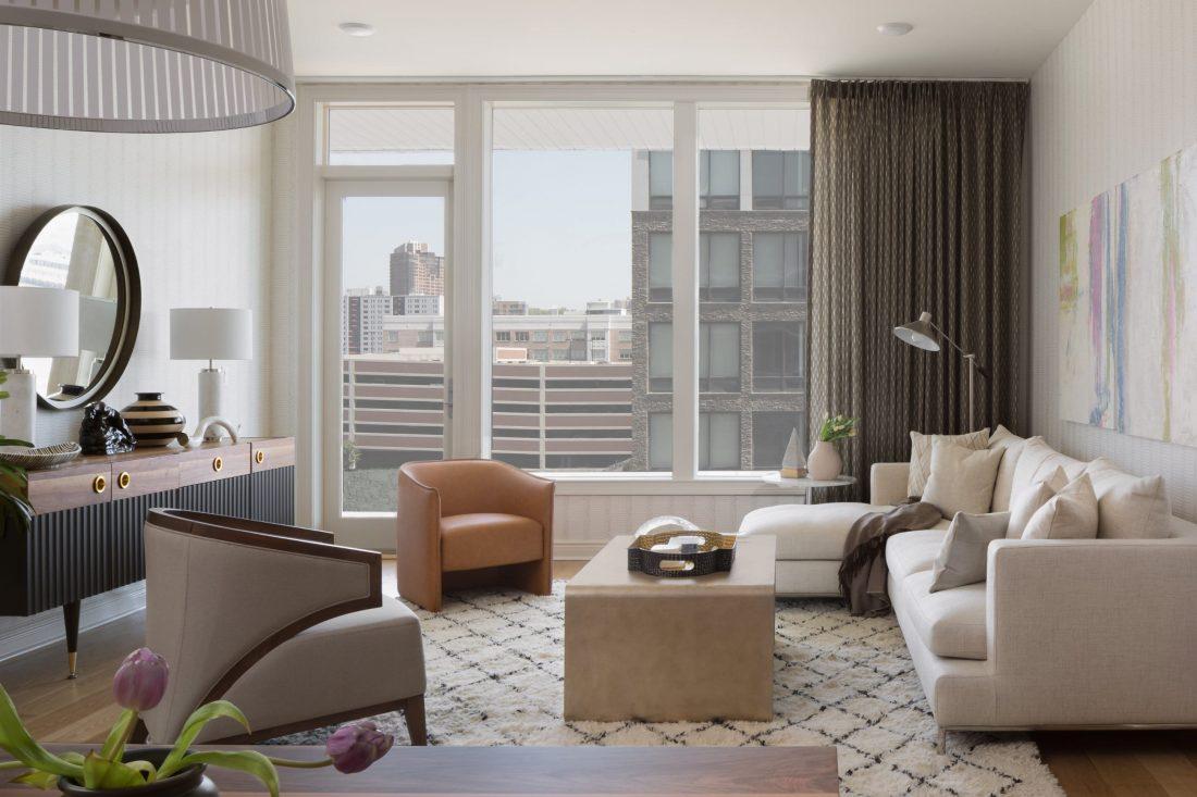 Metro Designer Showhouse, Glasshouse Luxury Condominiums, Edgewater, NJ